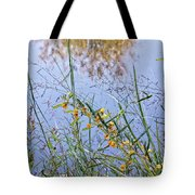 Floral Pond  Tote Bag