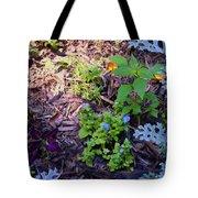 Floral Print 003 Tote Bag