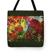 Floral Reef Tote Bag