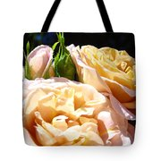 Floral Roses Garden Art Prints Baslee Troutman Tote Bag