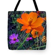 Floral Show Tote Bag