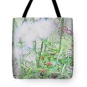 Floral Sketch Tote Bag
