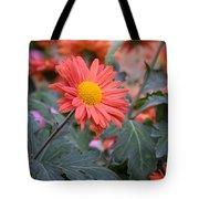 Floral Smiles Tote Bag