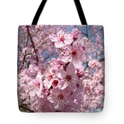 Floral Spring Art Pink Blossoms Canvas Baslee Troutman Tote Bag