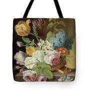 Floral Still Life Tote Bag