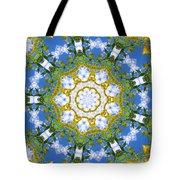 Floral Sun Tote Bag