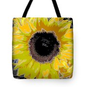 Floral Sunbeam Tote Bag