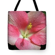 Floral Symphony In Pink Tote Bag