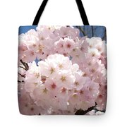 Floral Tree Blossoms Flowers Pink Art Baslee Troutman Tote Bag