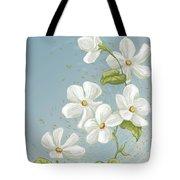 Floral Whorl Tote Bag