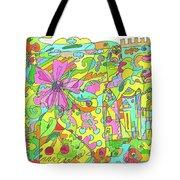 Floral World Tote Bag