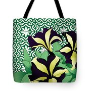 Floral Zellige Design 3 Tote Bag