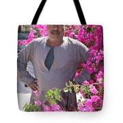 Floraman Tote Bag
