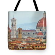 Florence And The Roofs Tote Bag