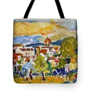Florence From A Hill Tote Bag