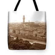 Florence Italy Wide Tote Bag