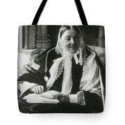Florence Nightingale, English Nurse Tote Bag by Science Source