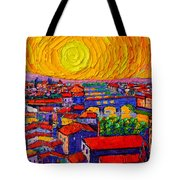 Florence Sunset 12 Tote Bag