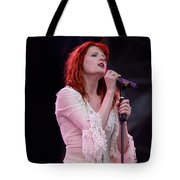 Florence Welch Singer Of Florence And The Machine Performing Live - 002 Tote Bag