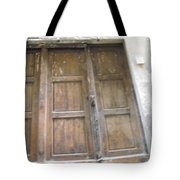 Florentine Door 4 Tote Bag