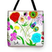 Flores De Primavera  Tote Bag