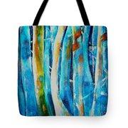 Floresta Azul Tote Bag