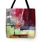 Florid Dream - Red Tote Bag