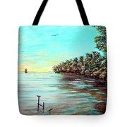 Florida Bay's Elliot Key Tote Bag