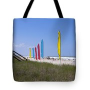 Florida Beach On The Atlantic Tote Bag