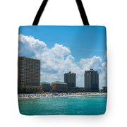 Florida Beach Panama City Tote Bag