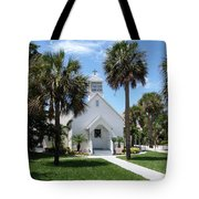 Florida Community Chapel Tote Bag