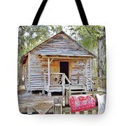 Florida Cracker Church And School House Tote Bag