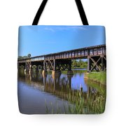 Florida East Coast Railroad Bridge Tote Bag