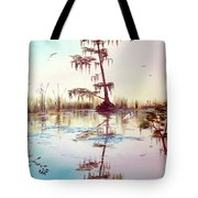 Florida Everglades Study # 1 Tote Bag