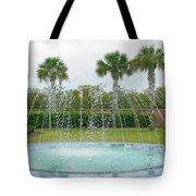 Florida Fountain Tote Bag