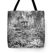 Florida Garden Scene_009 Tote Bag