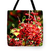 Florida Holly Berry's  Tote Bag