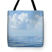 Florida Keys Clouds And Ocean Tote Bag