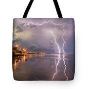 Florida Lightning Tote Bag