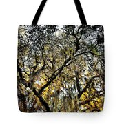 Golden Moss Tote Bag