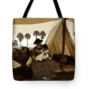 Florida Pioneers 1800s Tote Bag