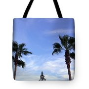 Florida Queen Palm   Tote Bag