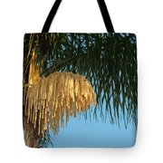 Florida Queen Palm Flower   Tote Bag