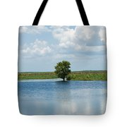 Florida River Backwater Tote Bag