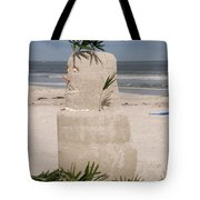 Florida Snow Man Tote Bag
