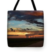 Florida Sunset Winding Road 2 Tote Bag