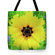 Florida - Yellow - Wildflower Tote Bag