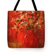 Florists Red Tote Bag