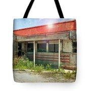 Flo's Roadside Diner Tote Bag