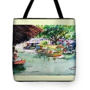 Floting Market Tote Bag